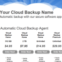 Cloud Backup Reseller Site