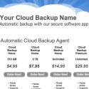 Cloud Backup Reseller Site