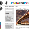Postcard Print WordPress Theme