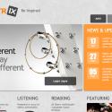 Electrix Music Website Template