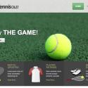 The Tennis Website Template