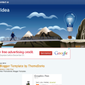 Business Idea Blogger Template