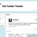 Twitter HTML Website Template