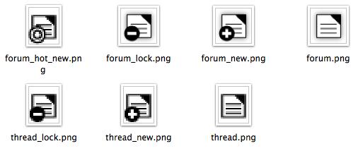 phpFox Forum Icons