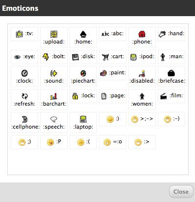 Hand Drawn phpFox Emoticon Icon Set