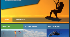 Extreme Sports Kiteboarding HTML Template