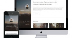 Strata Mobile Responsive HTML Template