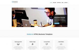 Modern Bootstrap HTML Template