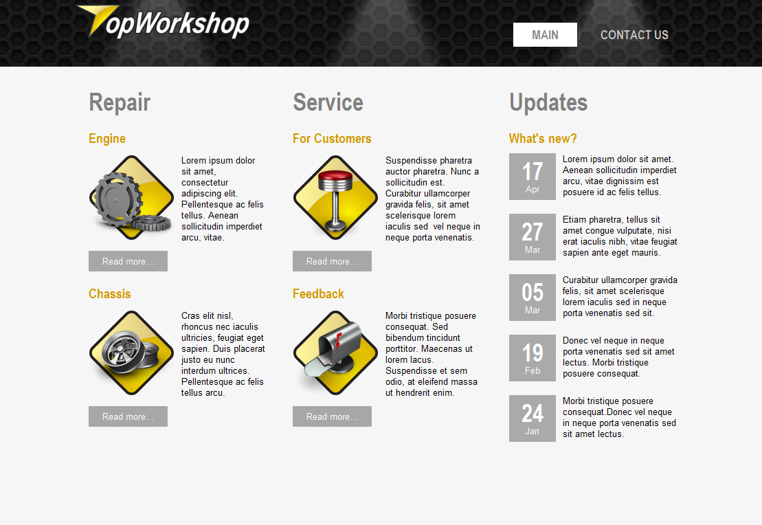 OP Workshop WordPress Theme
