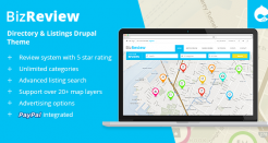 Business Review Drupal Theme