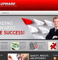Upward Business Investor Template