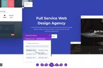 Free Web Agency Divi Layout Pack