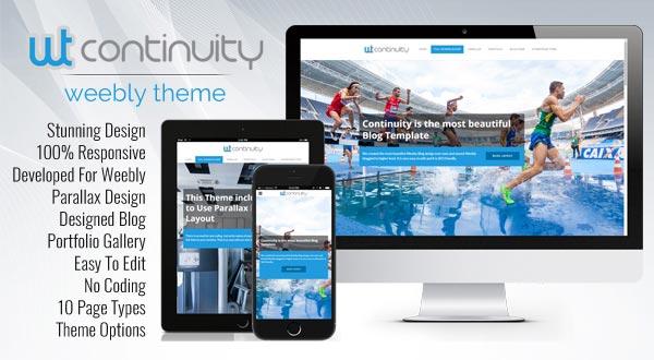 Continuity Premium Weebly Theme